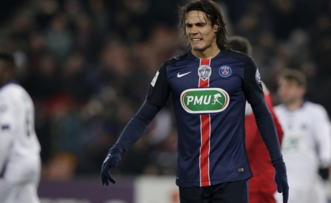 Manchester United Favourites To Sign Psg Striker Edinson
