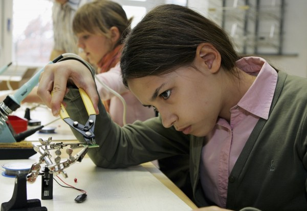 Girls In Stem Figures Show Women