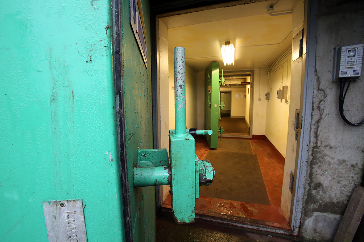 kitchen science garbage inside secret northern ireland cold war nuclear bunker ...