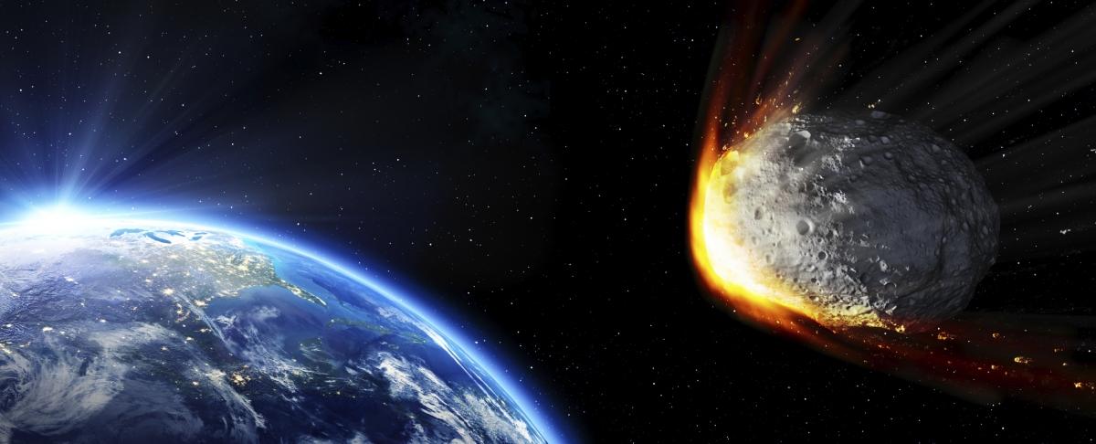 Asteroid Crashing Earth