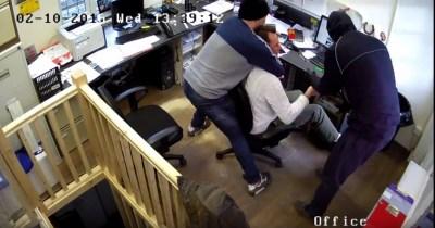 London Rolex robbery Shocking CCTV video shows masked men