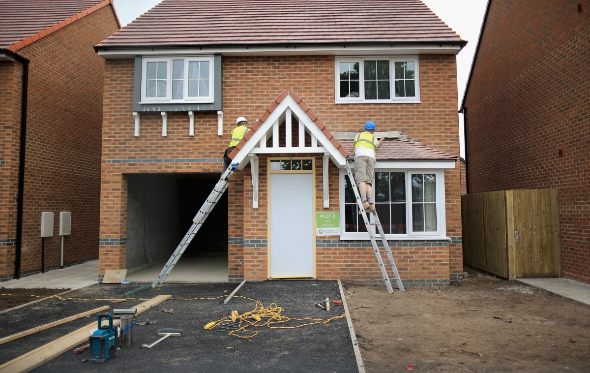 Housebuilding in England hits sevenyear high but Shelter brands figures not good enough