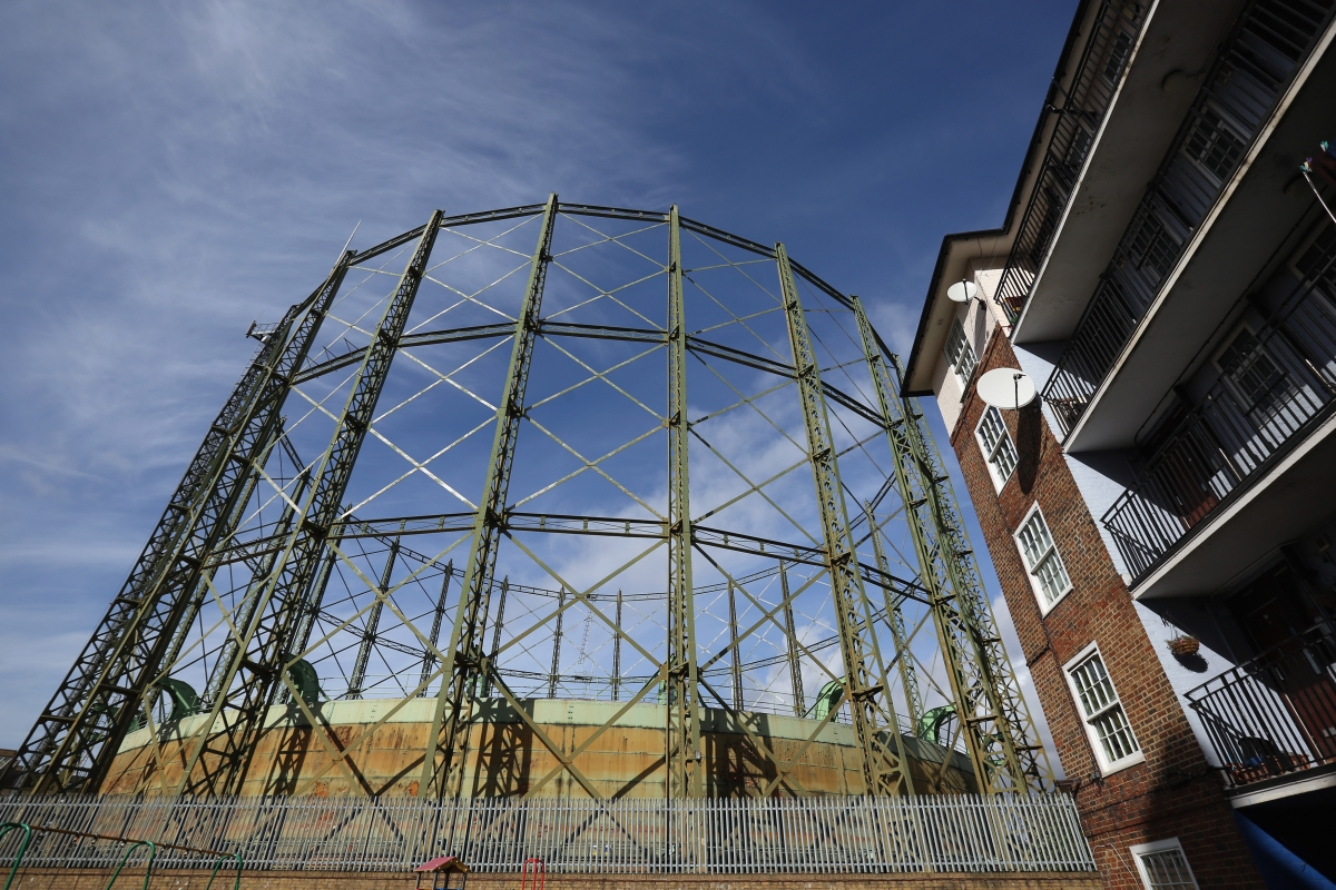 Famous Oval gasometer is Grade II listed What are Britain