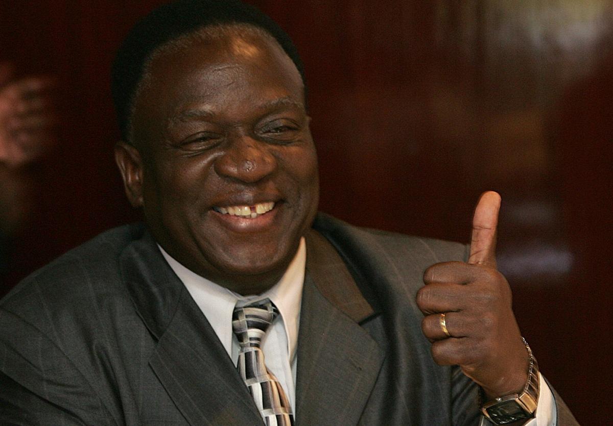 Image result for emmerson mnangagwa