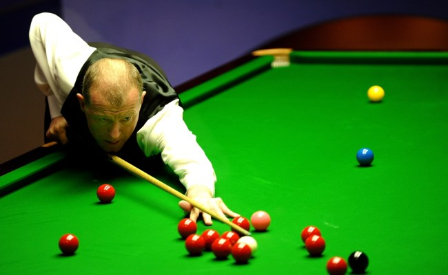 Snooker Legend Steve Davis Announces Retirement At The