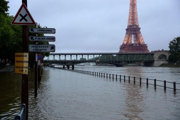 Paris France Flooding 2016