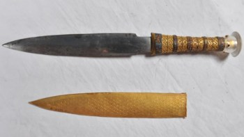 pugnale meteorite tutankhamon