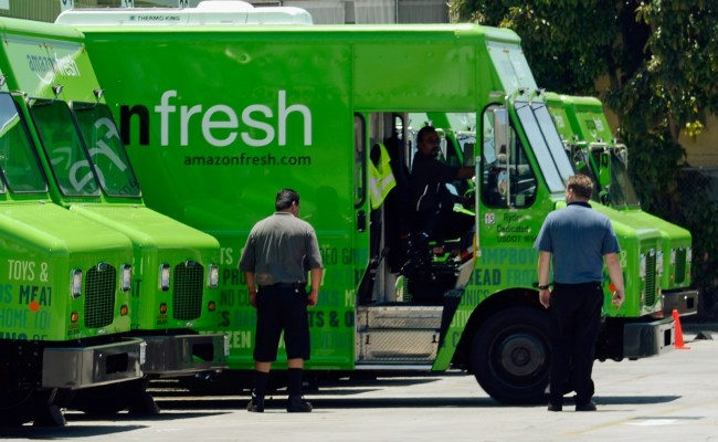Amazonfresh Food Delivery Service Launches In The Uk
