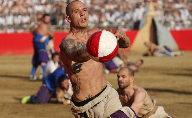 Calcio Storico Photos Of The World S Most Brutal Sport A