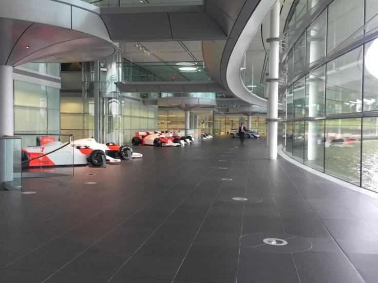 Lewis Hamilton F1 Car Wallpaper Inside Mclaren Technology Centre Where F1 Racers And