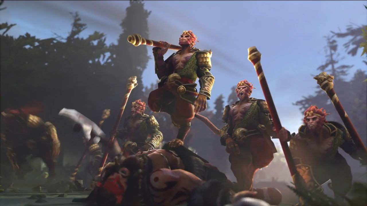 King Of The Fall Wallpaper Monkey King Heading To Dota 2 In Fall 2016