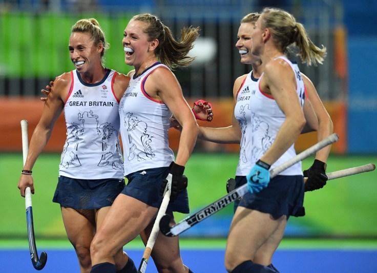 Rio 2016 Olympics GB Womens Hockey Team Beat Spain In