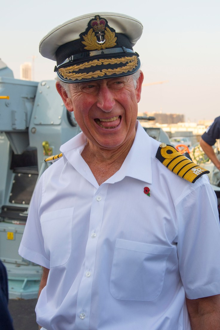 Prince Charles On Board Hms Middleton In Bahrain Following