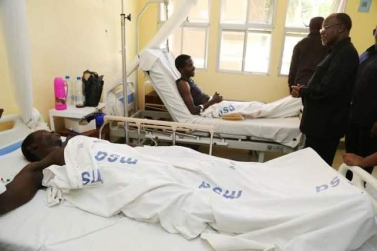 John Magufuli visits public hospital
