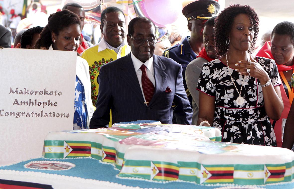 Robert Mugabe birthday