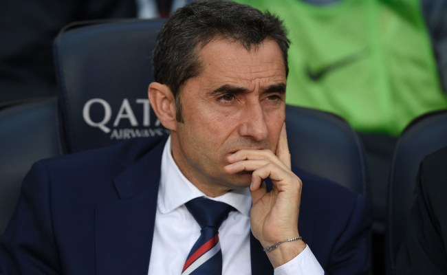 Ernesto Valverde Denies Any Club Agreement Amid Barcelona