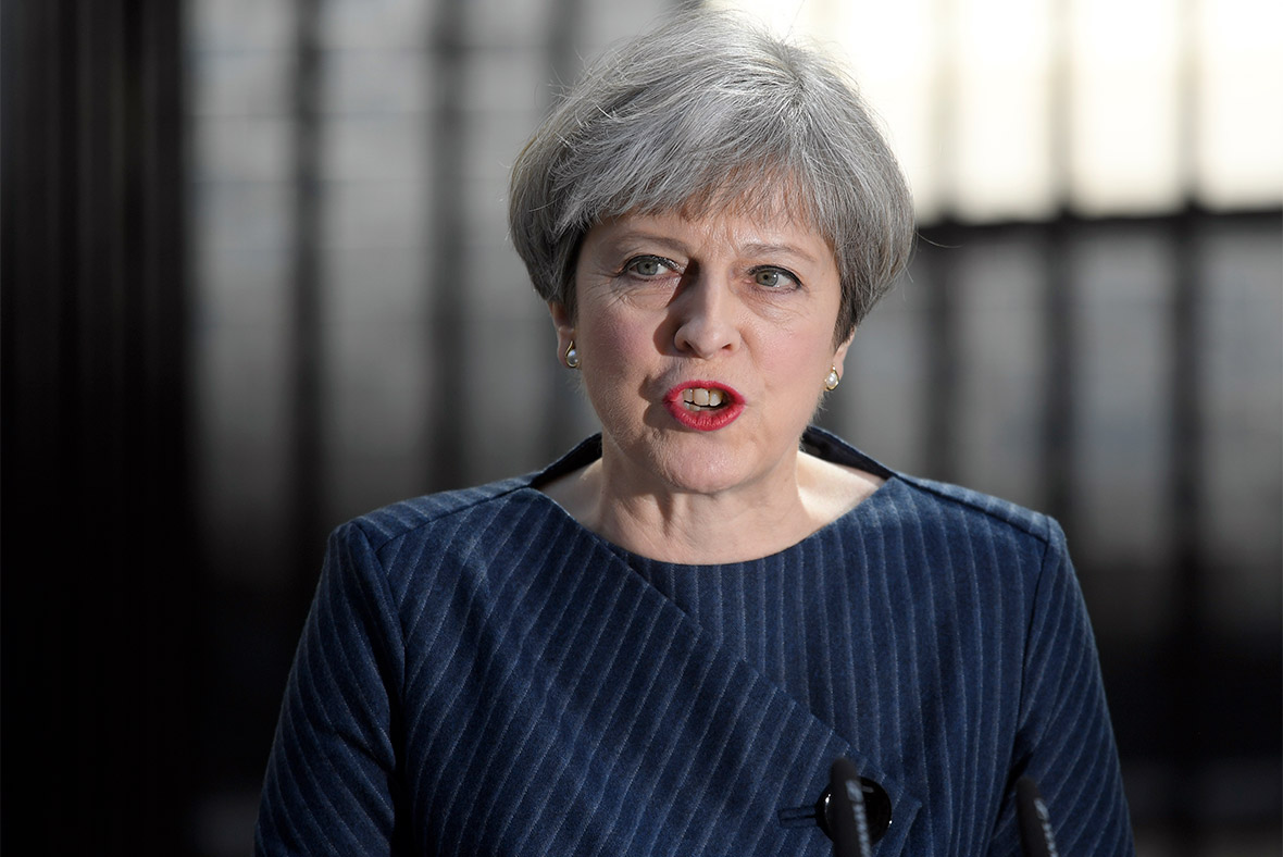 Theresa May Announces Snap General Election