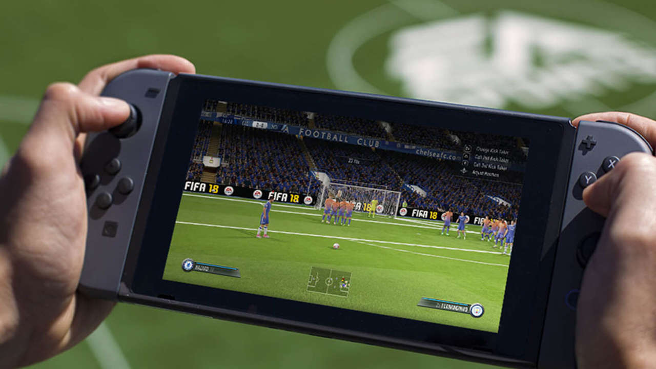 Fifa 18 For Nintendo Switch Set To Be The Definitive Multiplayer Football Game For Families