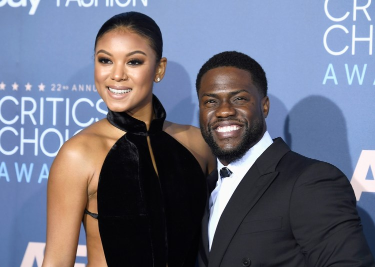 'A love like no other!' Kevin Hart's wife Eniko Parrish ...