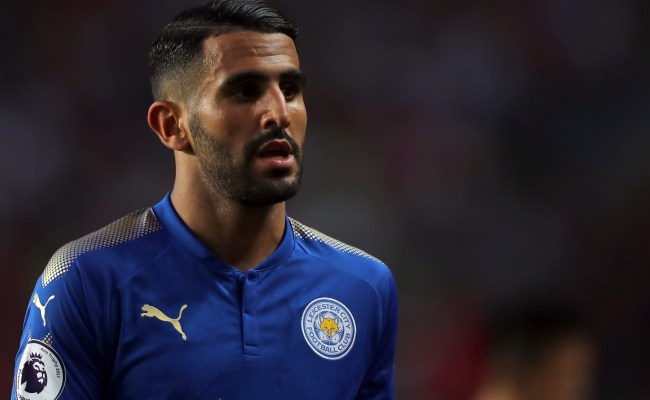 Inter Milan Enter Race For Leicester City Winger Riyad Mahrez
