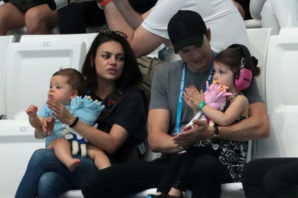 ' Ashton Kutcher And Mila Kunis Refuse Share