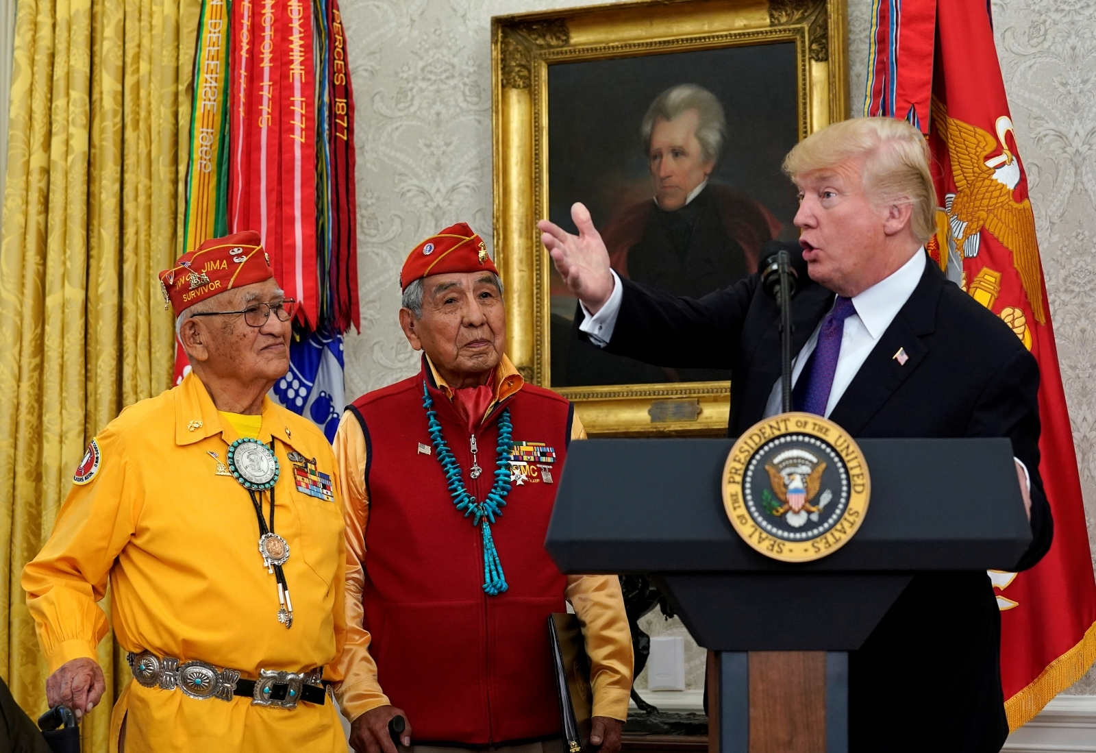Enough Of This Bs Twitter Blasts Trump Over Pocahontas