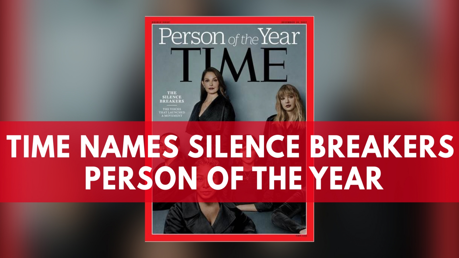 People are questioning why Taylor Swifts was among Time Magazines The Silence Breakers