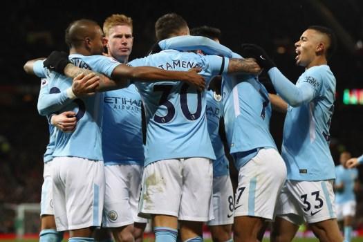 Manchester United 1-2 Manchester City: Otamendi and Silva ...