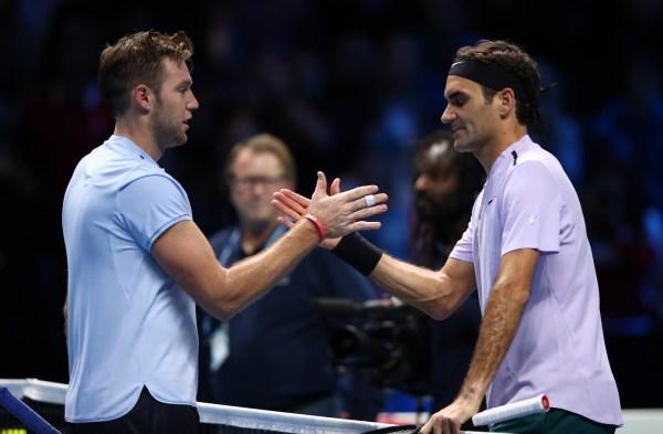 Roger Federer Returns Court World .1 Return