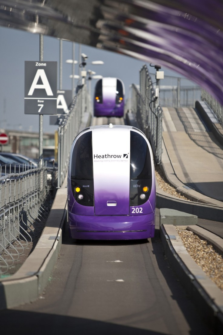 London Heathrow Gets Driverless Pod Cars to Transport