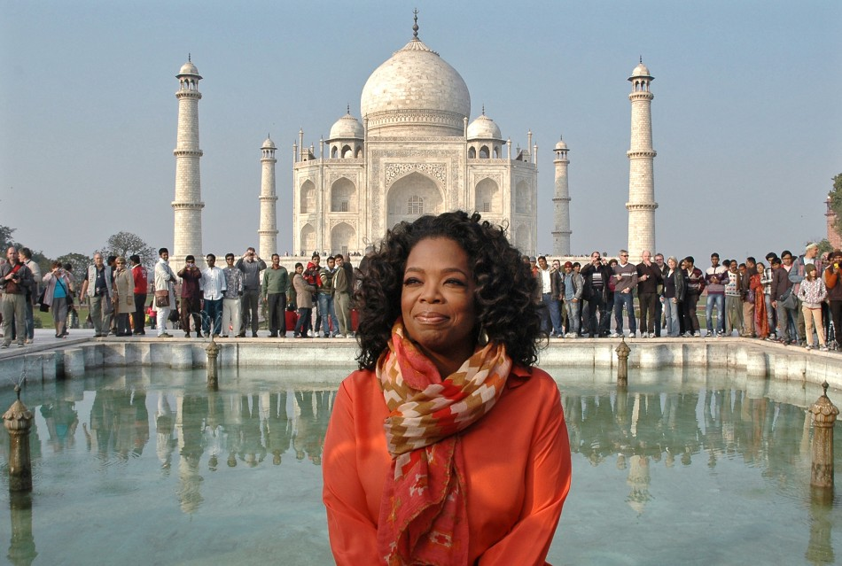 Oprah Winfrey Parties With Bollywood Royalty On First