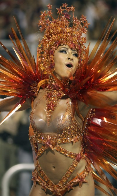 Rio Carnival 2012 Brazilian Beauties on Parade SLIDESHOW