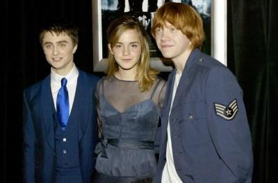 Harry Potter Stars,Daniel Radcliffe, Emma Watson, Rupert
