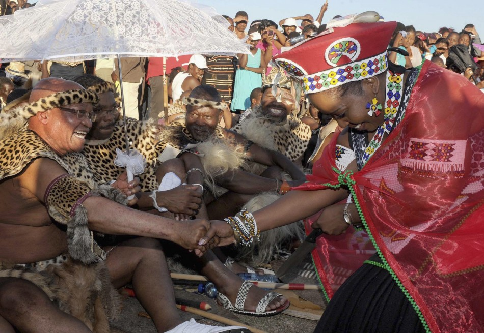 South African President Jacob Zuma Marries for Sixth Time Celebrations in Pictures  PHOTOS