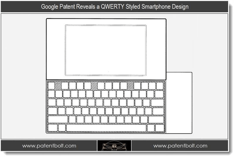 Google Files Patent For Nexus Phone with QWERTY Keyboard