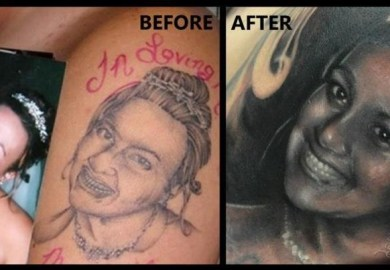 Celebrity Tattoos The Good The Bad And The Ugly The