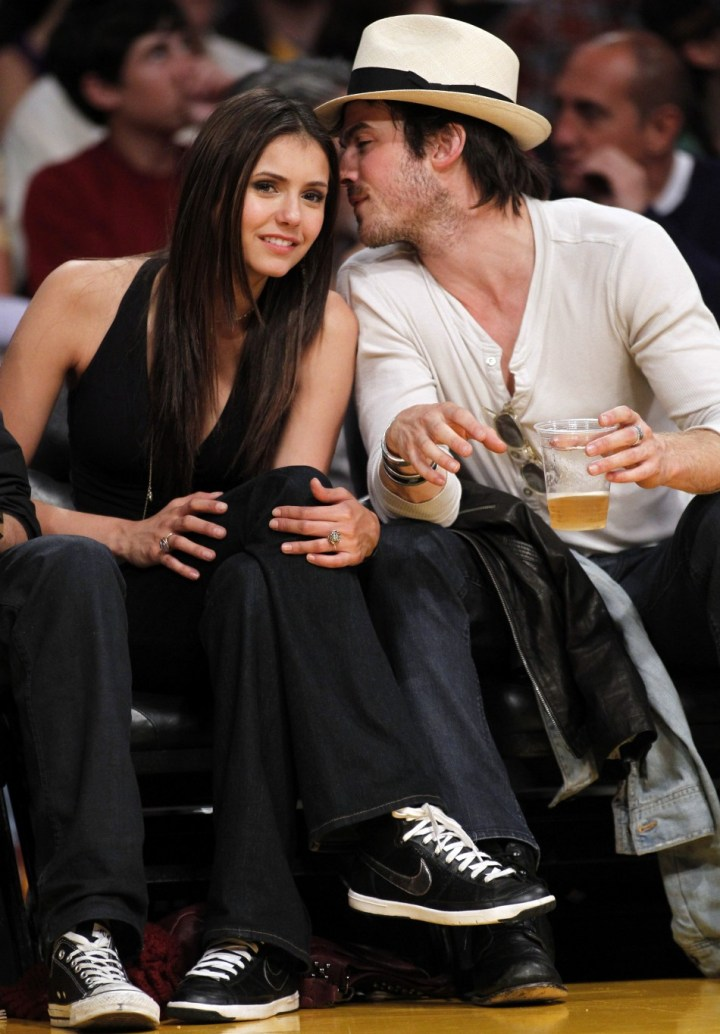 Ian Somerhalder Splits With Vampire Diaries Co Star Nina