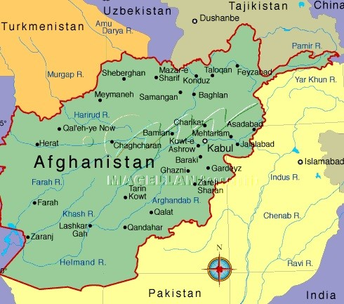Three Nato Troops and US Civilian Killed in Afghan Attacks