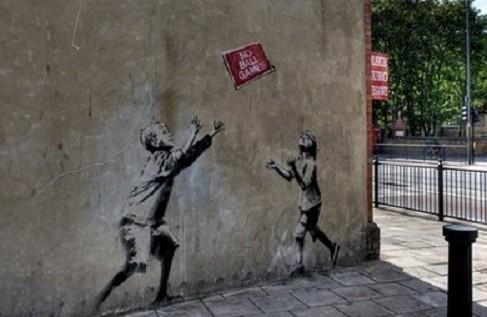 Graffiti Wallpaper Hd Tottenham Fury As It Loses Last Banksy Artwork To Sincura