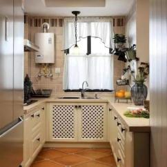 Curtains Kitchen Wall Paper 厨房窗帘这样挂 打破传统的格局 窗帘厨房