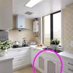 Cheap Kitchen Storage Modern Island 装修厨房这10点很重要装错一条费钱又毁房 厨房经常炒菜有油烟类似这种网格的门板就别装了 脏了不好清理