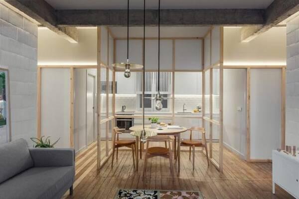 redesigning a kitchen counter accessories 房子重新装修完成厨房和餐厅设计算是绝了 重新设计一个厨房