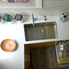 36 Inch Kitchen Sink Aid Coffee Maker 水槽是厨房使用率最高的部分 不同水槽的优缺点你应该要懂得 一个大的单一水槽