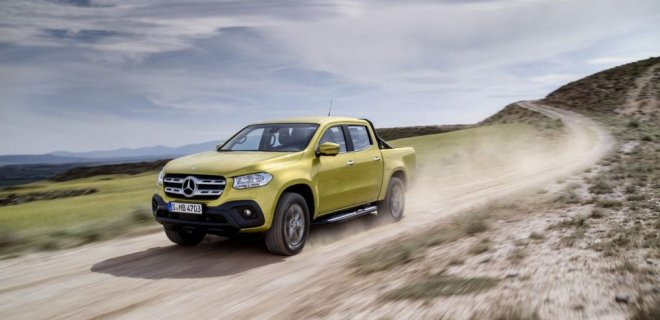 Mercedes x Class Price and features