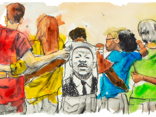 Martin Luther King Jr. Day Google Doodle Honors MLK With Illustration By  Dr. Fahamu Pecou