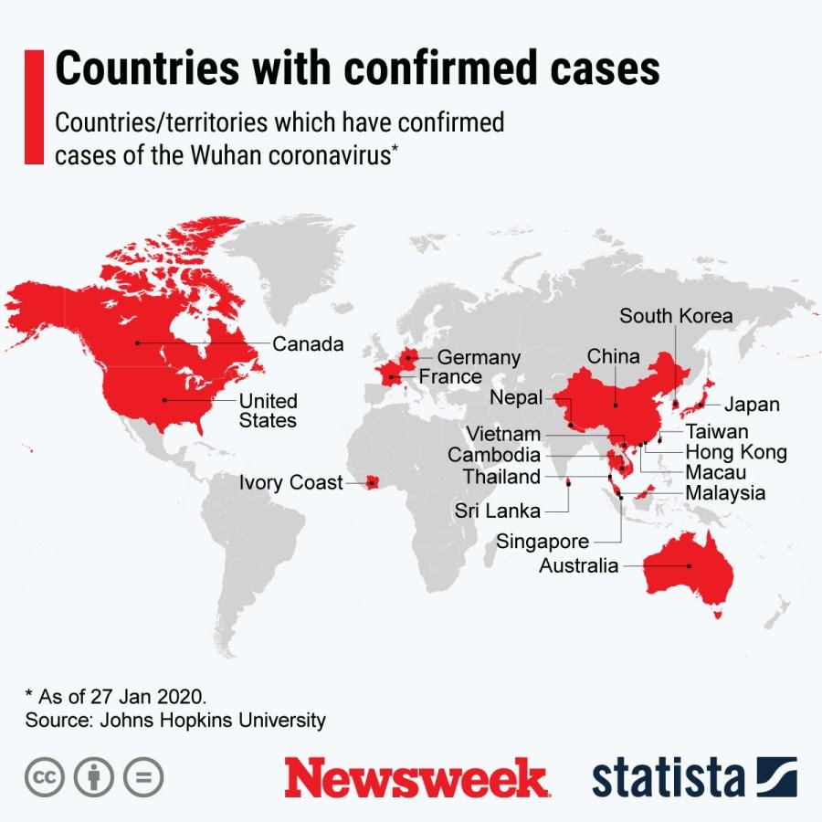 Coronavirus Now Spread to Over a Dozen Countries As WHO Declares ...