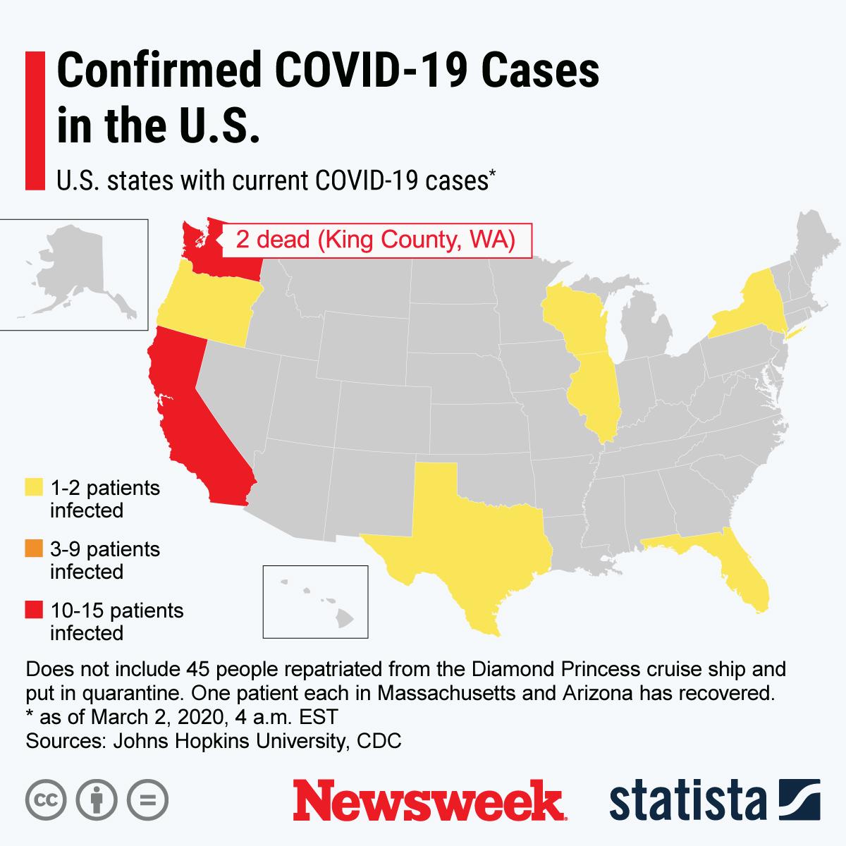 Coronavirus Update, Map as Death Toll Passes 3,000, Outbreak ...