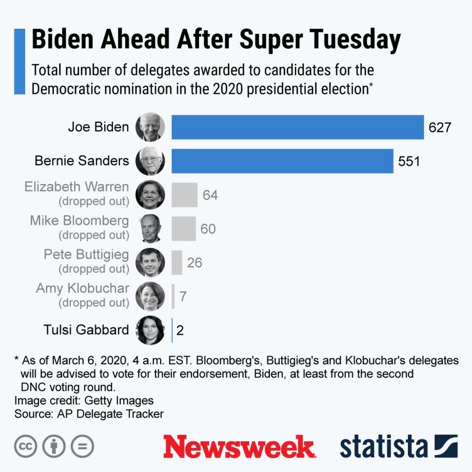 DNCが2020年の選挙統計を代行