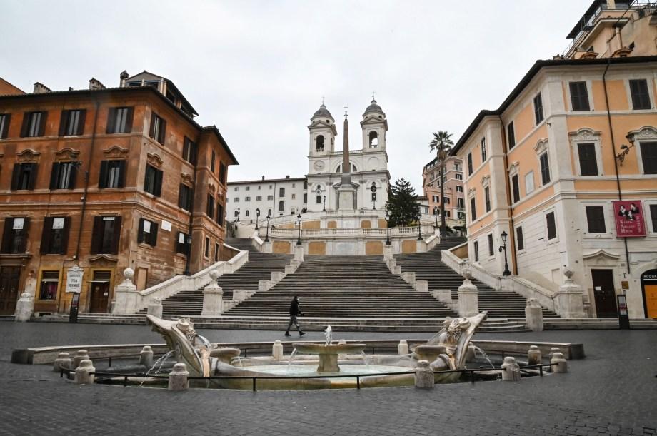 スペイン階段イタリア