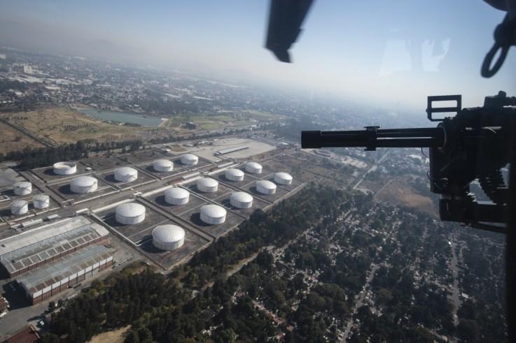 Mexico Oil Aerial